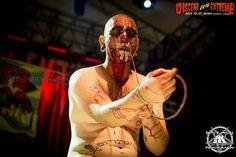 SELFIE, THE CLOWN - Obscene Extreme Festival 13.07.2016 Trutnov, Czech Republic