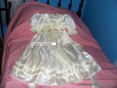 silk smocked flower girl gown size 4 $120 ring 0427820744