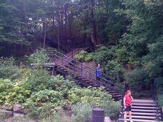 hiking in QC