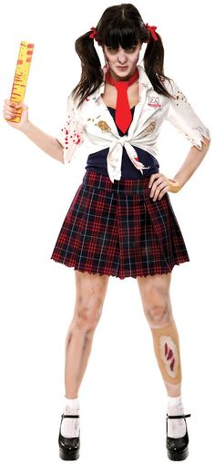 Buy costumes online like the Zombie Zone Charm School Adult Halloween Women's Costume from Australia's leading costume shop. Kids Costumes Girls, Girl Costumes, Adult Costumes, Costumes For Women, Costume Ideas, Fun Costumes, Awesome Costumes, Zombie Pirate Costume, Scary Halloween Costumes