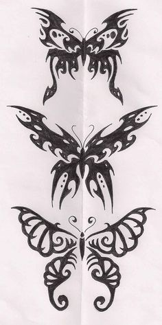 Just some tribal butterflies...not that that's obvious