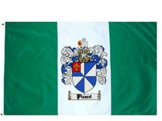 Picard Coat of Arms / Family Crest Flag