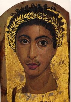 "Egypt: Roman Mummy Portraits - Set 1""The Fayum Portraits""  Roman Art More Pins Like This At FOSTERGINGER @ Pinterest"