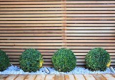 contemporary garden fence - Google Search