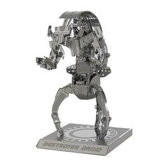 Metal Earth Star Wars Destroyer Droid 3D Model Kit