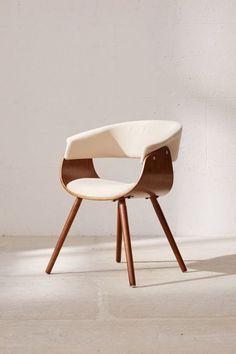 70s-style-desk-chair Cute Desk Chair, Modern Desk Chair, Diy Chair, Modern Chairs, Modern Furniture, Furniture Design, Modern Armchair, Furniture Removal, Custom Furniture