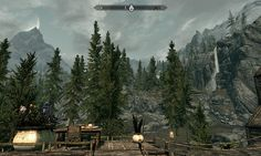 Skyrim MOD View from Treehouse