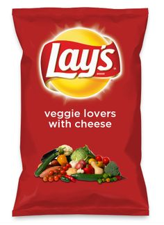 Wouldn't veggie lovers with cheese be yummy as a chip? Lay's Do Us A Flavor is back, and the search is on for the yummiest flavor idea. Create a flavor, choose a chip and you could win $1 million! https://www.dousaflavor.com See Rules.