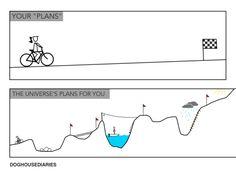 Your plans vs the universe's
