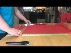 ▶ DIY Compression Shirt (Thunder Shirt) Part 2 - YouTube