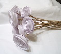 White roses wedding roses Roses by kC2Designs on Etsy, $16.00