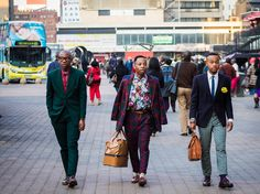 Street Sartorialism in the streets of Johannesburg. Very funny day this was indeed, we challenged ourselves to b.