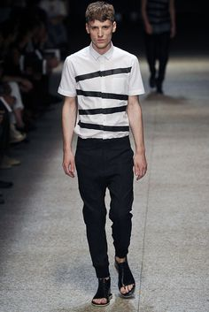 Neil Barrett | Spring 2011 Menswear Collection | Style.com