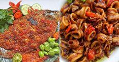 Tak semua orang bisa mengolah seafood menjadi makanan yang lezat. Indonesian Food, Indonesian Recipes, Ratatouille, Pot Roast, Soup Recipes, Seafood, Food And Drink, Menu, Kitchens