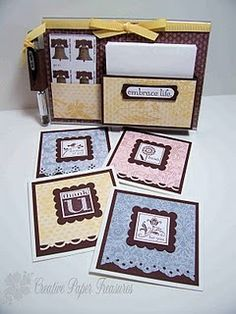Card holder gift. - Wendy Schultz ~ Gift Wraps, Cards, Tags, Bows & Bags.
