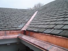 Commercial, Domestic Roof Repairs London - New Roof Specialists Copper Gutters, Ice Dams, Copper Work, Composition Shingles, Eco Architecture, Slate Roof, Concrete Wood, Roof Repair, Play Houses