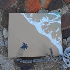 Sea Turtle Painting,