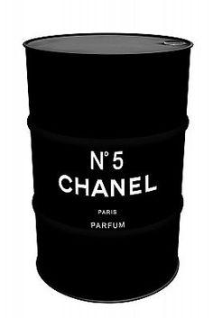 Tambor Decorativo Chanel Preto