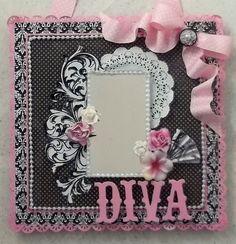 Diva Decor Mirror **THE PAPER VARIETY** - Scrapbook.com