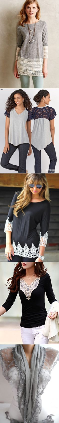 lace blouse shirt change...♥ Deniz ♥
