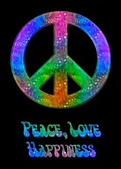 Peace Sign Two Sided Decorations Love Signs Mandalas
