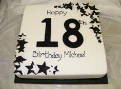 18th Birthday Cake Designs Boys Cakes For