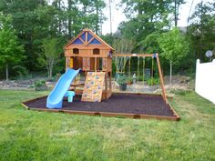 Backyard Playground Ideas backyard playground in the landscaping in south jordan utah in south jordan Backyard Playgrounds And Here Is The After Photo Of Our Very Own Backyard Playground