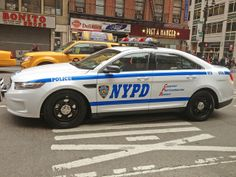 Picture Of New NYPD 2013 Ford Taurus Police Interceptor Car # 4700 ...