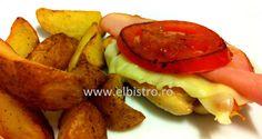 Chicken Valdostana with wedges Bistro Food, Potatoes, Wedges, Chicken, Vegetables, Potato, Veggies, Vegetable Recipes, Buffalo Chicken