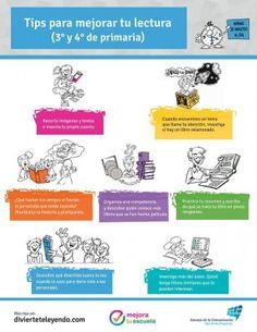 Tips para mejorar tu lectura (3° y 4 ° de primaria)