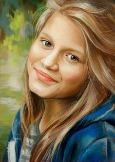 Custom Portrait - Oil Painting - photo to painting on canvas