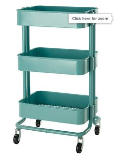 IKEA mobile cart coloring storage