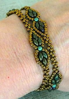 Linda's Crafty Inspirations: YouTube Beading Tutorial - Dream Empress Bracelet 5/13/15