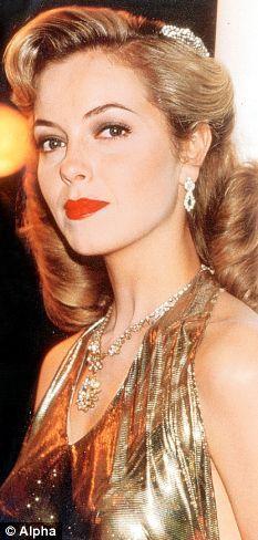 Greta Scacchi (half British) as Lady Diana Broughton in 'White Mischief' (film 1987)