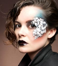 This would be such a fun one day painting assignment! Eye Dare You - Adult Facepainting - Gallery 1