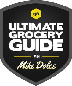 Onnit.com's Ultimate Grocery Guide with Mike Dolce #DolceDiet: This Website also has fitness supplements and workout gear.
