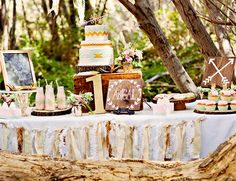 Whimsical Woodland First Birthday - Inspired By This