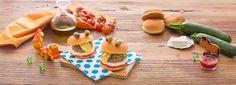 Succulente polpette di carne adorate dai bambini! Ecco come comporre un hamburger sfizioso per avere una buffa faccia…tutta da mangiare!