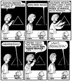 Mafalda Comic, Walking Quotes, Mafalda Quotes, H Comic, Comics Toons, Cartoon Heart, Argentine, Humor Grafico, Calvin And Hobbes