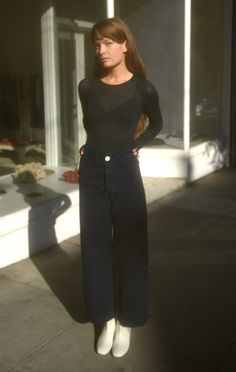 Anaïse | Jesse Kamm Sailor Pant, Midnight Clothing, Shoes & Jewelry : Women http://amzn.to/2kCgwsM