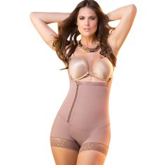 bf9f63e4be Fajas Colombianas Dprada Tummy Control BodyShaper Short Style Shapewear  11046 Post Pregnancy Body