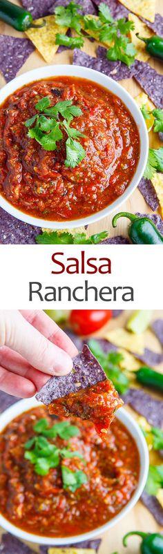 Jalapeno Salsa Ranchera Recipe — Dishmaps