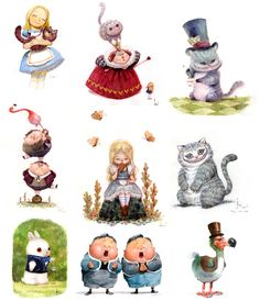 Alice in Wonderland by Bobby Chiu & Kei Acedera