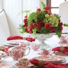 Host A Valentine's Day Brunch via Tea Time Magazine!  :)