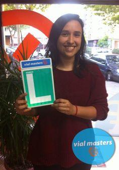 Irene se sacó el carnet de conducir en Autoescuelas Vial Masters. ¡¡A disfrutarlo!!