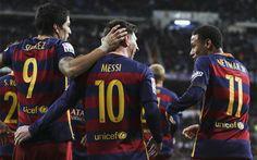 La 'MSN' el tridente más letal del FC Barcelona