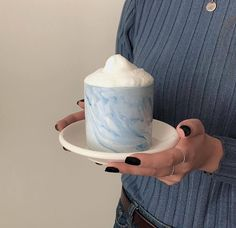soft aesthetic tones of coffee Blue Palette, Blue Aesthetic, Korean Aesthetic, Coffee Love, Pastel Blue, Something Beautiful, Sea Foam, Rainbow Colors, We Heart It