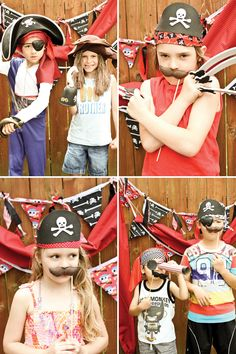 Amazing Vintage Pirate Party {+ Creative Activities}