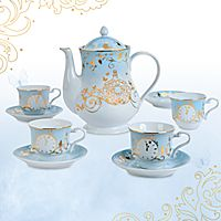 Cinderella Limited Edition Fine China Tea Set - Live Action Film Someone hide my credit card! Disney Home, Disney Dream, Disney Mugs, Cinderella Party, China Tea Sets, Live Action, Action Film, After Life, Coffee Set