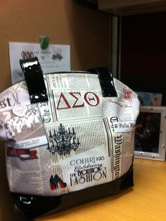 DST Pocketbook courtesy of PG Alumnae Chapter. Delta Sigma Theta Gifts, Delta Sorority, Delta Symbol, Sorority Names, Delta Girl, Omega Psi Phi, Way Of Life, 4 Life, Greek Life